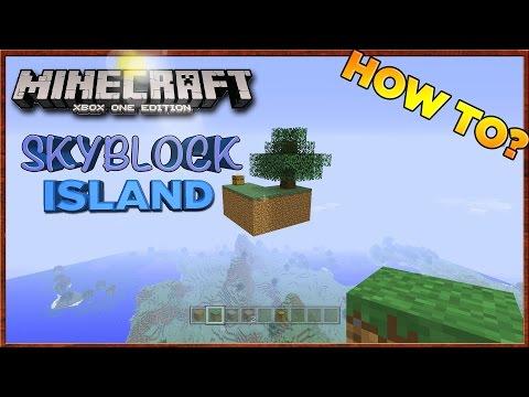 Minecraft: How to Build a SkyBlock Island [Xbox & Playstation]