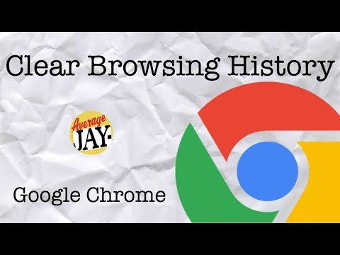 Google Chrome: How to Clear Browser History