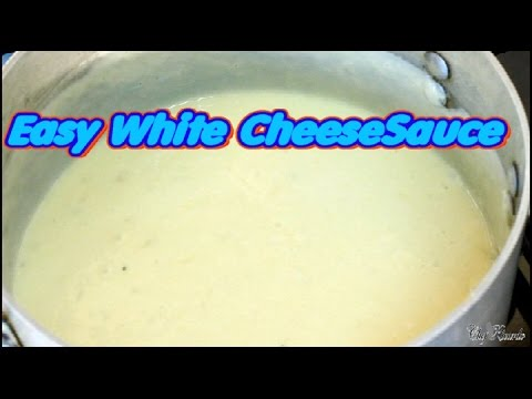Easy White Cheese SauceAt Home | Recipes By Chef Ricardo