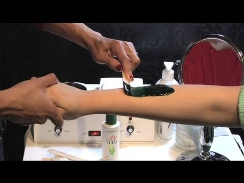 How to Wax Facial Hair for Sensitive Skin : Great Skin Care Advice
