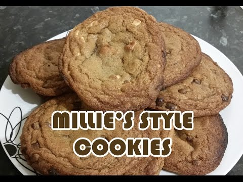 Homemade Millie's Style Cookies Recipe - Big, Soft n Chewy