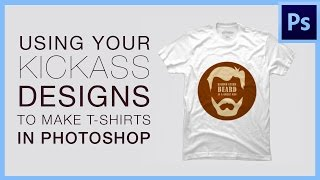 Designing Shirts In Photoshop Using Graphic Design For Ts