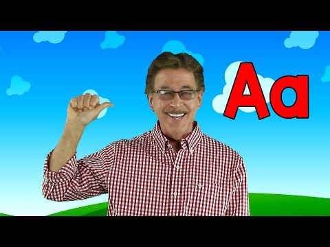 Letter A   Sing and Learn the Letters of the Alphabet   Learn the Letter A   Jack Hartmann
