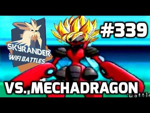 ORAS Wifi Battle VS MechaDragon Scizor goes even further beyond Pokemon Omega Ruby & Alpha Sapphire