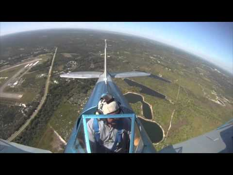 Florida Biplanes Valkaria Airport Departure Runway 32