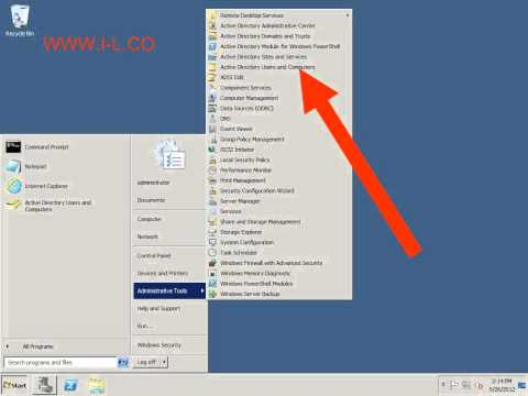 how to reset user password in windows 2008 r2 domain WWW.I-L.CO