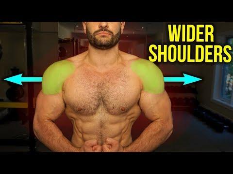 The WIDER Shoulders Workout (4 KILLER Dumbbell Exercises)