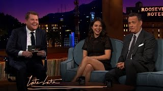 Mila Kunis and Tom Hanks Discuss Parenting, Marriage