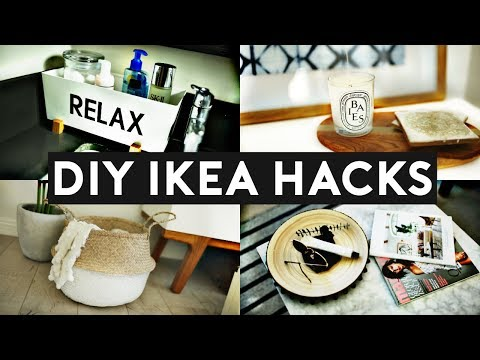 DIY IKEA HACKS | DIY Room Decor! EASY & INEXPENSIVE