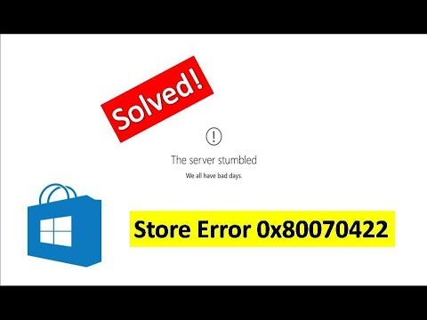 How to Fix Store Error 0x80070422 in Windows 10 in Hindi