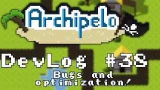 2d Mmorpg Devlog #38: Cleanup And Optimization (archipelo)