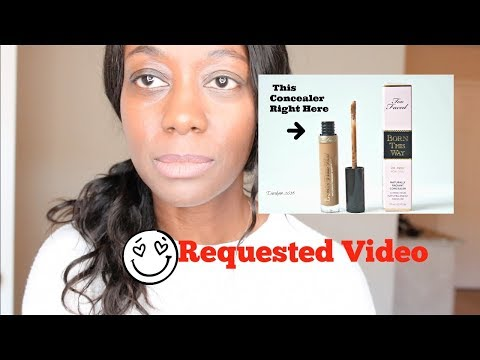 Requested Video : Too Faced Concealer  Born This Way