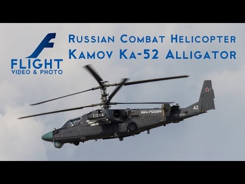 Kamov Ka-52 Alligator - Russian Attack Helicopter 4K UltraHD Video