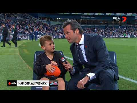 2018 NAB AFL Auskicker of the Year – Rd 7 Nominee