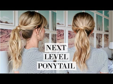 Perfect Messy Ponytail Tutorial | Easy Everyday Updo