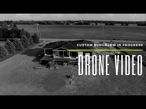 Custom Bungalow Drone Video, Parkway Road Greely
