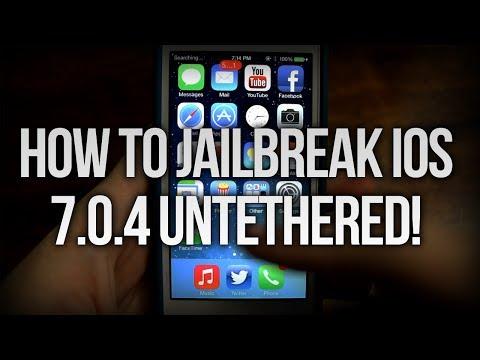 How To Jailbreak iOS 7.0.4 Untethered With Evasi0n!