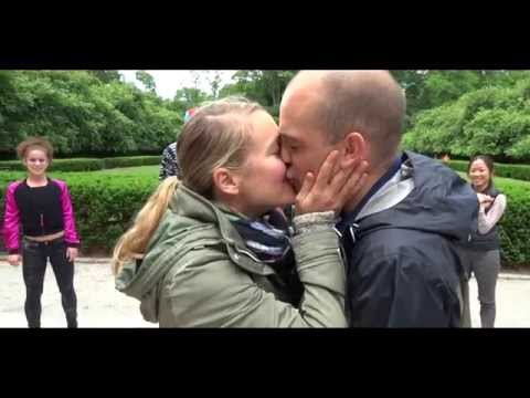 Mario and Catherine's Proposal Flash Mob in the Conservatory Gardens, NYC