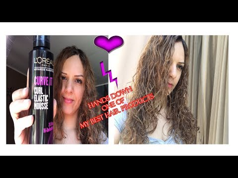 L'Oréal Curve It Elastic Curl Mousse
