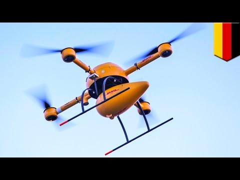 DHL 'parcelcopter' drone to deliver medicine to remote German island