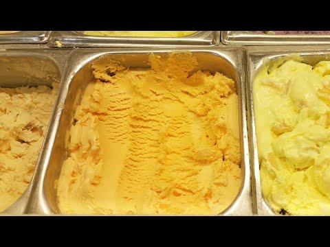 Instant Orange Ice-Cream | Fresh Fruit Orange Ice-Cream | Easy and Quick Orange Ice-Cream |
