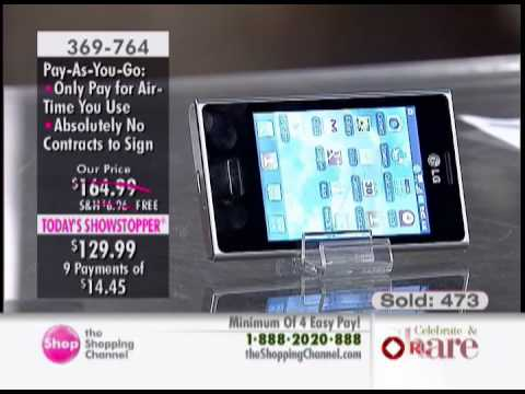Rogers LG Optimus L3 Pay As You Go Phone Bundle with SIM Card, Jelly Case and Airtime at The Shop...