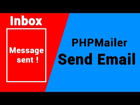 PHPMailer   send emails in PHP Using Gmail SMTP