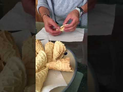 How to: making homemade gluten-free waffle cones