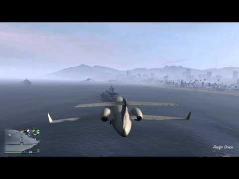 Landing on a yacht in GTA 5