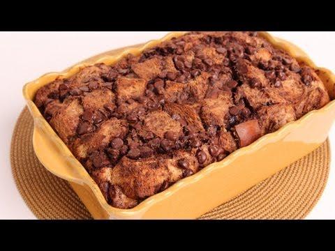 Chocolate Bread Pudding Recipe - Laura Vitale - Laura in the Kitchen Episode 337