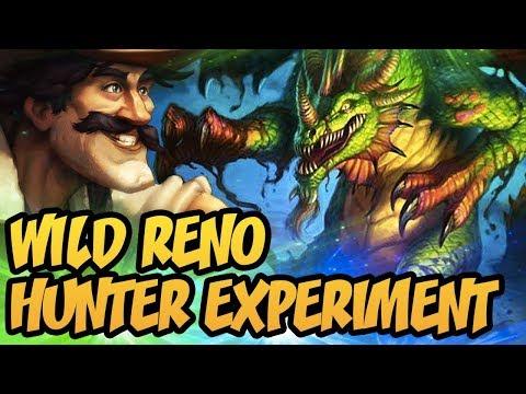 Hearthstone: Wild Reno Hunter Experiment
