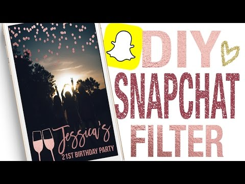 How To Create A Custom Snapchat GeoFilter Filter Using Picmonkey