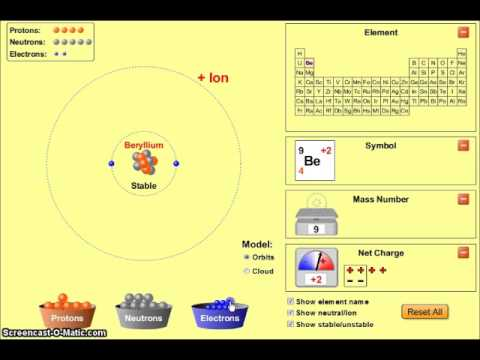 Atoms - How to Find the Number of Subatomic Particles - Mr Pauller