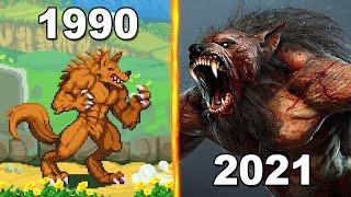 Werewolf Evolution in Games 1990-2021
