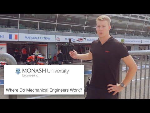 Where Do Mechanical Engineers Work?