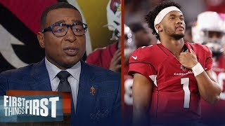 Cris Carter has concerns for Kyler Murray after preseason loss to Raiders | NFL | FIRST THINGS FIRST
