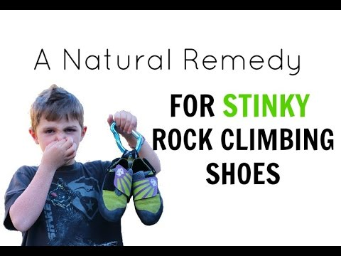 Natural Remedy For Stinky Rock Climbing Shoes