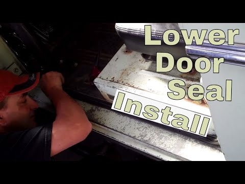 How to Install WILD HORSES 66-77 Bronco Lower Door Seals