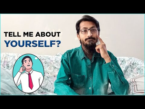How To Answer : Tell Me About Yourself | In a Job Interview | With Examples (Urdu / Hindi)