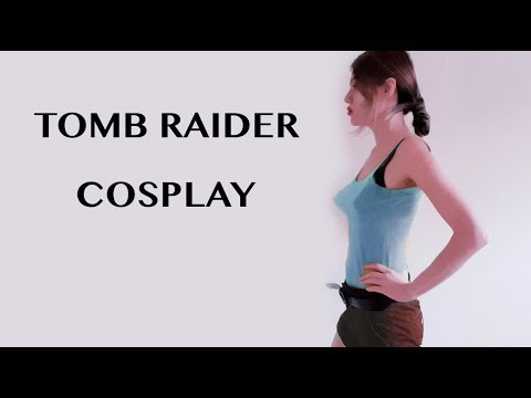 Lara Croft Cosplay-let's celebrate 1491 subscribers