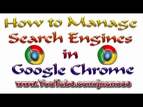 How to Manage Search Engines in Google Chrome