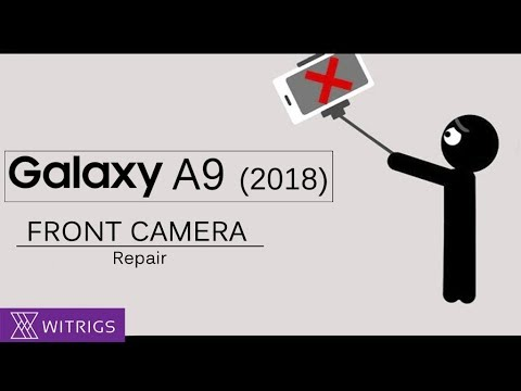 Samsung Galaxy A9 2018 Front Camera Repair Guide