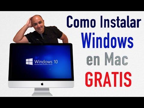 Instalar Windows en Mac -  GRATIS