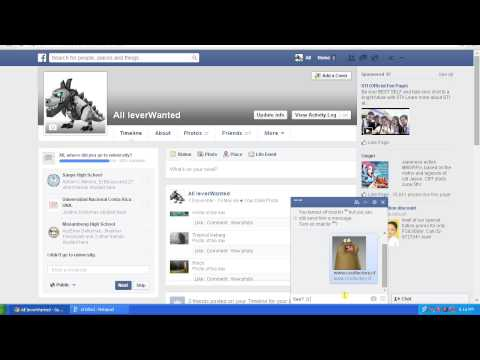 How to Share Gif Images on Facebook chatbox 2014 ( Tutorial )