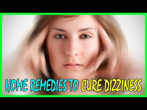 8 Most Effective Natural Home Remedies To Cure Dizziness - How To Stop Vertigo
