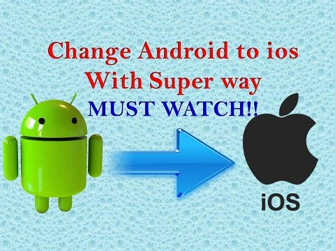How to Change Android to IOS (Without Root) With Super Way MUST WATCH!!