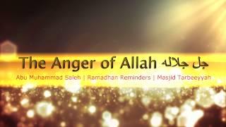 The Anger of Allah | Abu Muhammad Saleh | Ramadhan Reminders | Masjid Tarbeeyyah