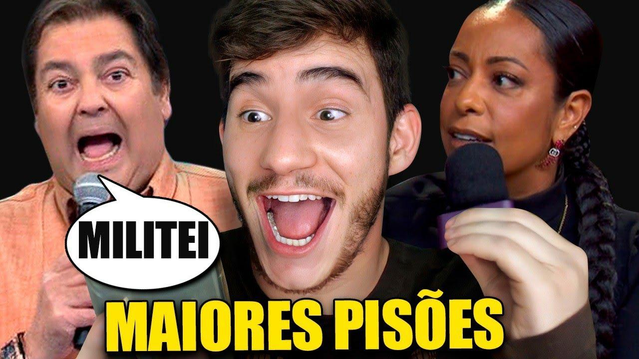 MAIORES PISÕES NA TV BRASILEIRA!!! 😂😱 | Klébio Damas