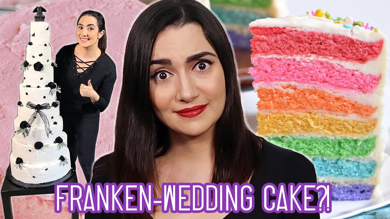Baking A Wedding Cake With Every Possible Cake Flavor In It