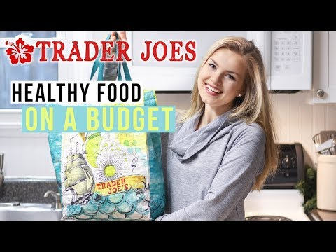 TRADER JOES HAUL | Healthy Food on a College Budget (Vegan)